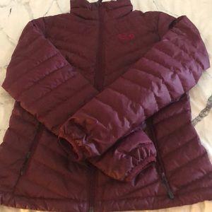 Mountain hardwear synthetic puffer jacket